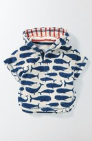 Infant Boy's Mini Boden Whales Towelling Hoodie