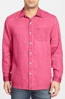 Tommy Bahama 'Sea Glass Breezer' Original Fit Linen Shirt