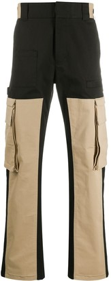 Fendi Colour-Block Cargo Trousers