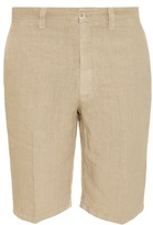 120% Lino Bermuda Linen Shorts