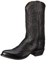Lucchese Classics Men's Carso-Blk Lonestar Calf Cowboy Riding Boot