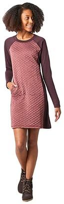 Smartwool Diamond Peak Quilted Dress (Black Heather) Women's Dress