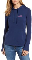 Vineyard Vines Women's Etched Logo Performance Hoodie