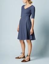 Boden Floral Jacquard Dress