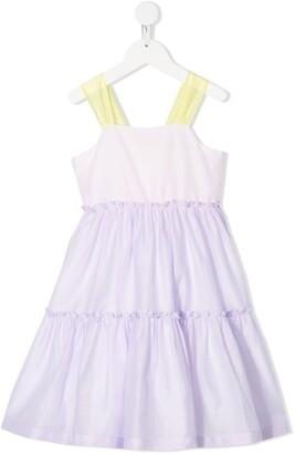 Il Gufo Sleeveless Gathered Dress