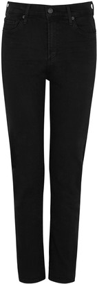 Citizens of Humanity Harlow Black Slim-leg Jeans