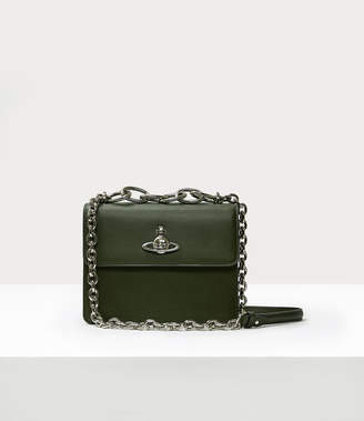 Vivienne Westwood Florence Medium Bag With Flap Green