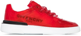 Givenchy Wing transparent low-top sneakers