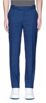 Alexander McQueen Wool hopsack pants