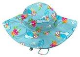 I Play Classics Brim Sun Hat (Baby/Toddler)-Aqua-0-6 Months