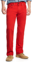True Religion Men's Ricky Relaxed Straight Fit Colored Jeans