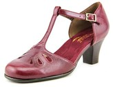 Aerosoles Marine Corps Women Round Toe Synthetic Purple Heels.