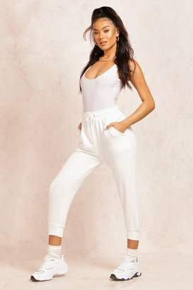 boohoo The Cropped Loopback Jogger