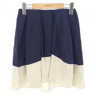 3.1 Phillip Lim Navy Silk Skirt for Women
