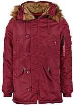 Alpha Industries Winter Jacket Burgundy