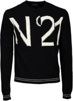 N°21 N.21 Logo Intarsia Sweater