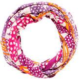 Diane von Furstenberg Printed Silk Infinity Scarf