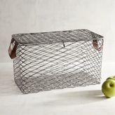 Pier 1 Imports Kasey Lidded Iron Medium Basket