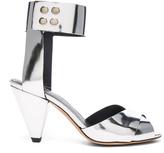 Etoile Isabel Marant Leather Meegan Metallic Heels
