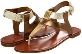 Nine West Footwork (Gold Multi Synthetic) - Footwear