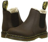 Dr. Martens Kid's Collection 2976 Leonore (Toddler) (Dark Brown Republic Waterproof) Kid's Shoes