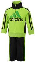adidas Boys 2-7 Logo Jacket and Pants Set