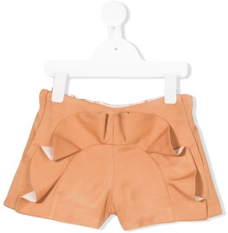 Hucklebones London Ruffled Shorts