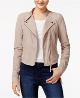 American Rag Faux-Suede Moto Jacket, Only at Macy's