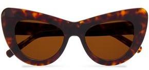 Cat Eye Andy Wolf Jan Cat-eye Tortoiseshell Acetate Sunglasses