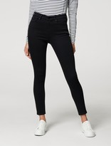 Thumbnail for your product : Forever New Sara Mid-Rise 7/8 Jeans - Forever Black - 10