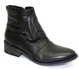 "Ld Tuttle The Ray"" Black Leather Ankle Boot"