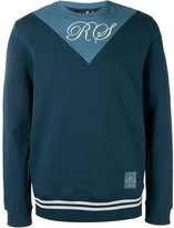 Fred Perry two tone sweatshirt