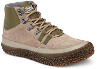 Hybrid Green Label Trek Suede Mid Sneaker