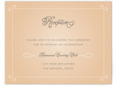 Minted Vintage Tray Reception Cards
