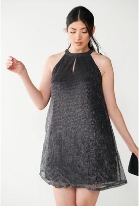 Nine West Women's Pleated Halter Dress
