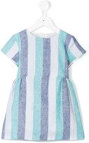 Knot - Ocean stripes dress - kids - Linen/Flax - 3 yrs