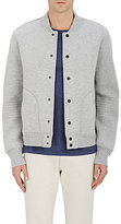 Barneys New York MEN'S COTTON-BLEND BOMBER JACKET