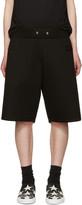 Givenchy Black Neoprene Shorts