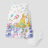 Genuine Kids from OshKosh Toddler Girls' Dr. Seuss Shift Dress from OshKosh® - Fresh White