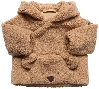 Il Gufo Terrycloth Jacket W/ Bear Applique