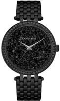 Caravelle Women's Black Stainless Steel Bracelet Watch 38mm