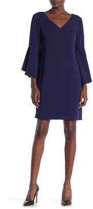 Trina Trina Turk Nico Bell Sleeve Dress