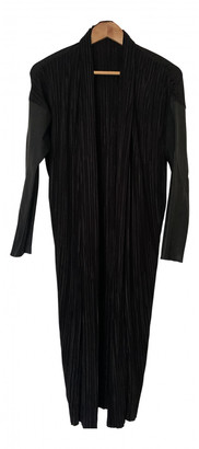 Anne Vest Black Polyester Coats