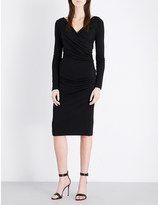 Diane von Furstenberg Bentley ruched wool-jersey dress
