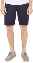 Ted Baker Funtess Spotted Jacquard Chino Shorts