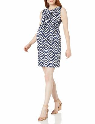 Maternal America Women's Single Pleated Maternity Dress