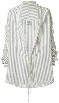 Vivienne Westwood Man - Gainsborough front-tie shirt - men - Cotton/Linen/Flax - 48