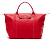 Longchamp Le Pliage Cuir Leather Tote Bag
