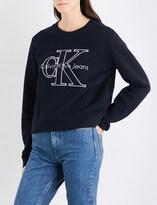 Calvin Klein Harper True Icon cotton-jersey sweatshirt