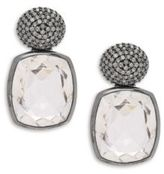 Stephen Dweck Diamond & Sterling Silver Earrings